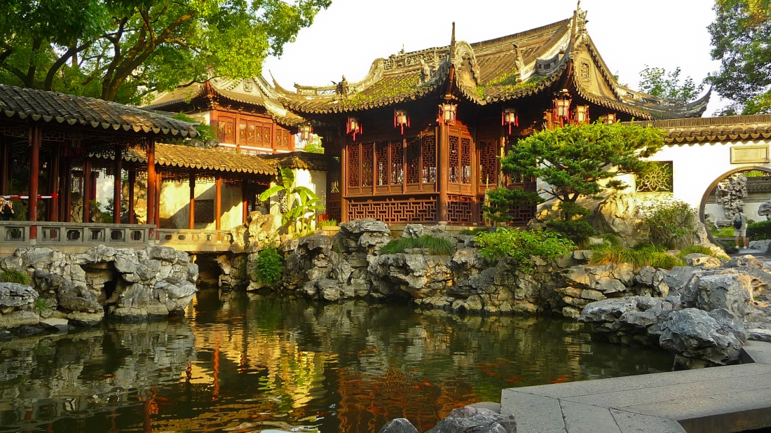 Picture of Yuyuan Garden in Shanghai, China