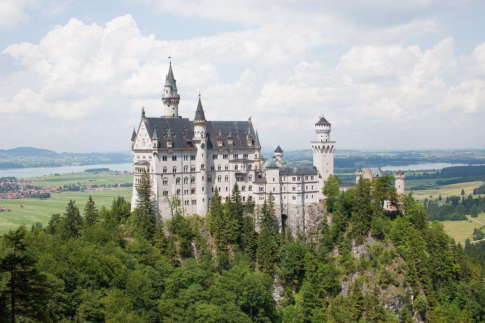 Picture of Neuschwastein Castle in Germany