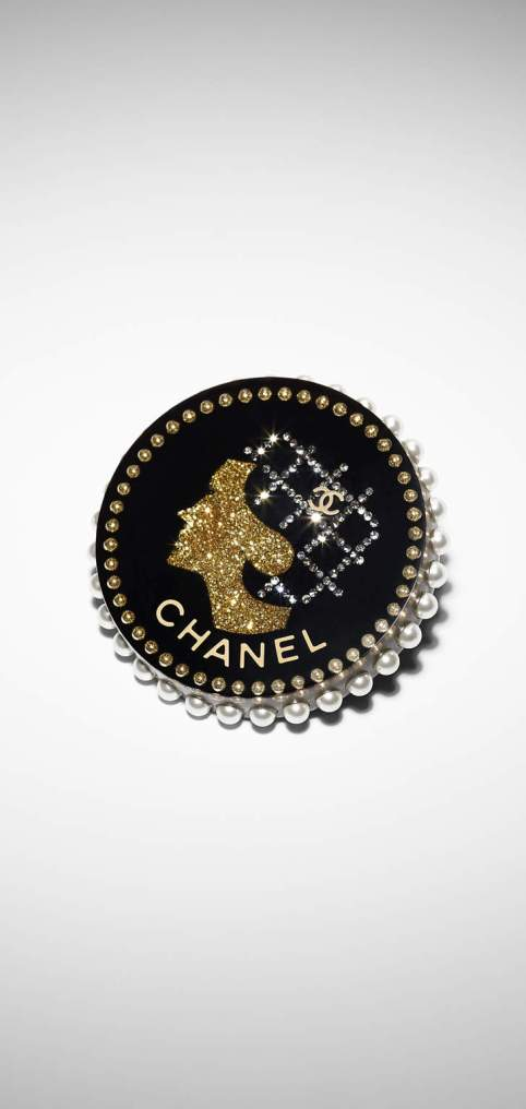 Picture of a Chanel silhouette brooch