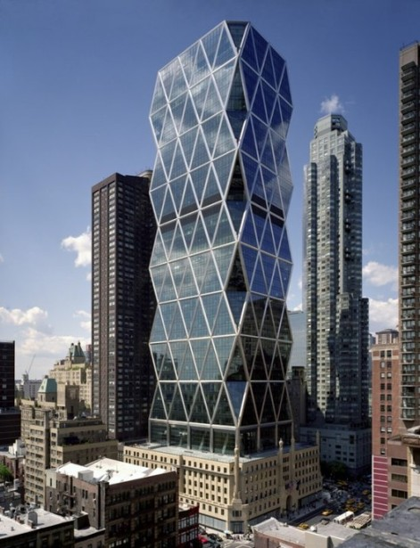 Picture of Hearst Tower in New York City