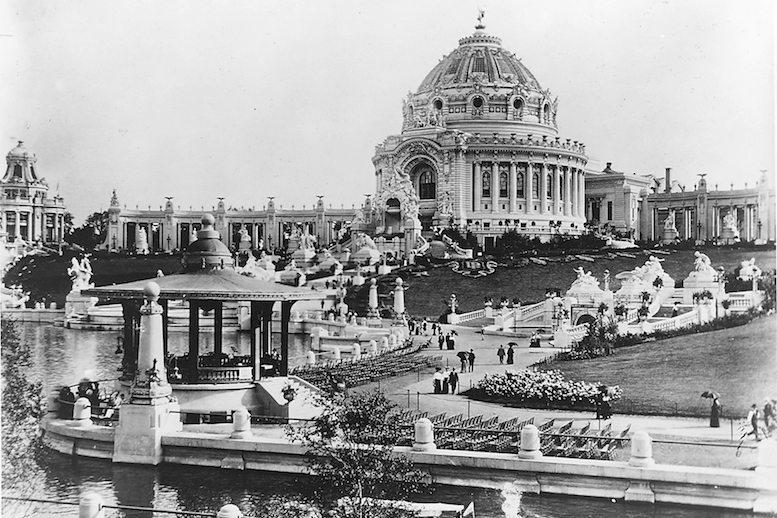 Picture of the Palace of Fine Arts in St. Louis at the 1904 World's Fair